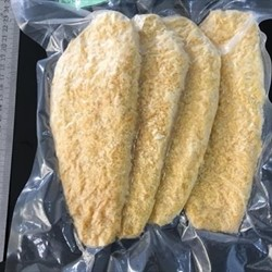 Yellow Breaded Pangasius Fillets