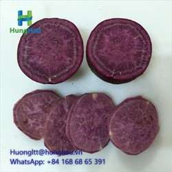 Frozen Purple Sweet Potato (slice)