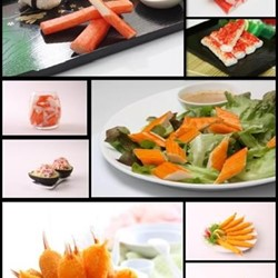 Surimi Crab Stick, Surimi Crab Chunk, Breaded Crab Claw, Fish Ball, Etc