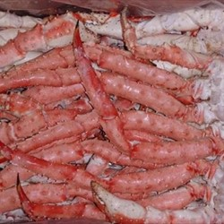 Frozen Cooked King Crab Legs Clusters