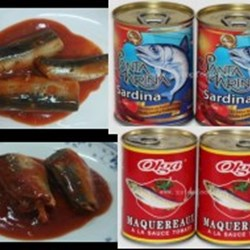 Canned Sardine In Tomato Sauce Or Brine